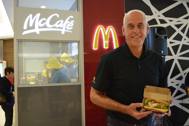 Dave Murray McDonald's franchise owner and originator of the McLobster - What is the McDonald's McLobster?