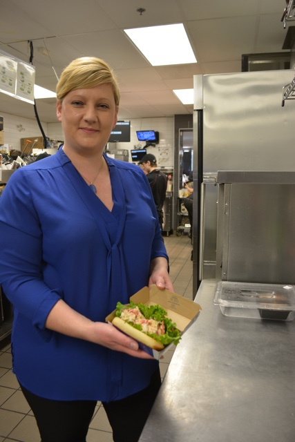 Nicola Pitman McDonald's Canada Menu Management Director who made the McLobster - What is the McDonald's McLobster?