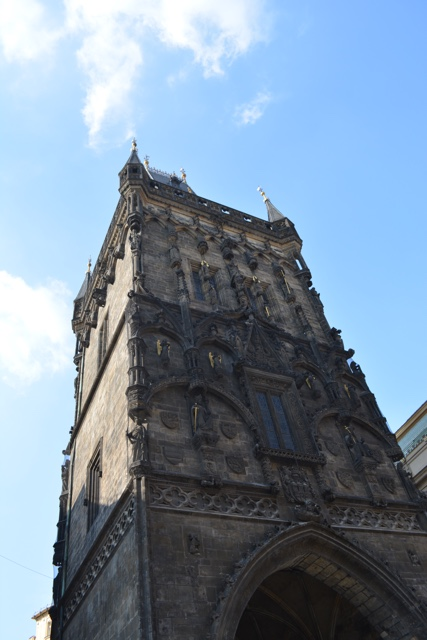 jindrisska tower belfry Zvonice restaurant and museum - A Delicious Food Tour in Prague