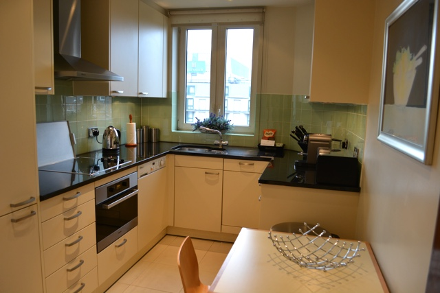 spacious kitchen with everything - Cheval Gloucester Park Luxury Apartments London