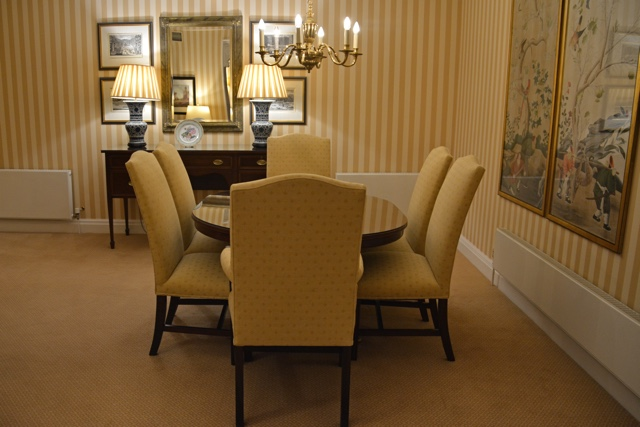 penthouse suite fancy dining room - Thorney Court Luxury Apartments Near Kensington Palace