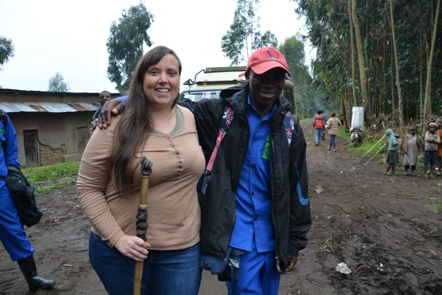 Jackson the best porter for gorilla trekking in rwanda - Trekking to see Wild Mountain Gorillas in Rwanda