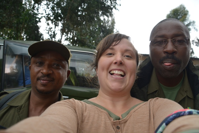 Mr D and Patience the best gorilla trekking guides in volcanoes national park rwanda - Trekking to see Wild Mountain Gorillas in Rwanda