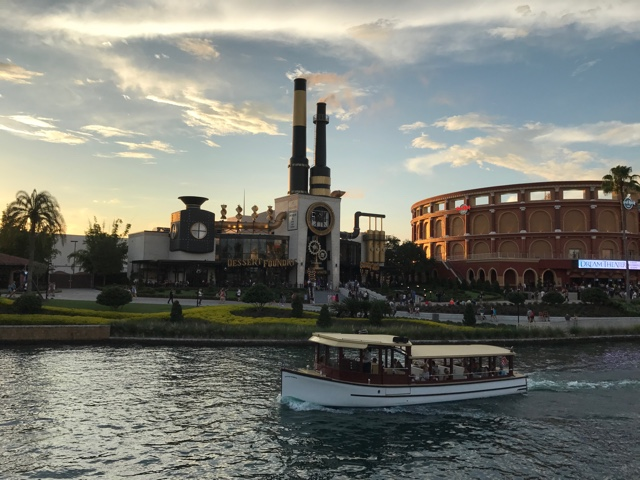 a ferry drives by the toothsome-chocolate emporium and savoury feast kitchen a review of the toothsome chocolate emporium at universal orlando
