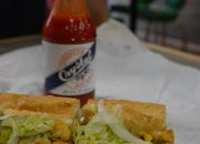 cat fish po boy dressed - Review of the Doctor Gumbo Food Tours in New Orleans