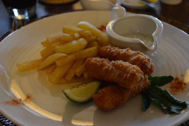 delicious fish and chips - Nyungwe Forest Lodge, Rwanda Review