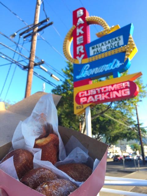 famous malasadas from leonards bakery in Honolulu - Touring Oahu, Hawaii in a Minute