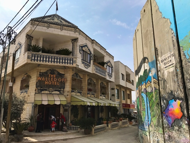 Banksy's Walled Off Hotel in Palestine, Bethlehem - How to Get to Banksy's Walled Off Hotel