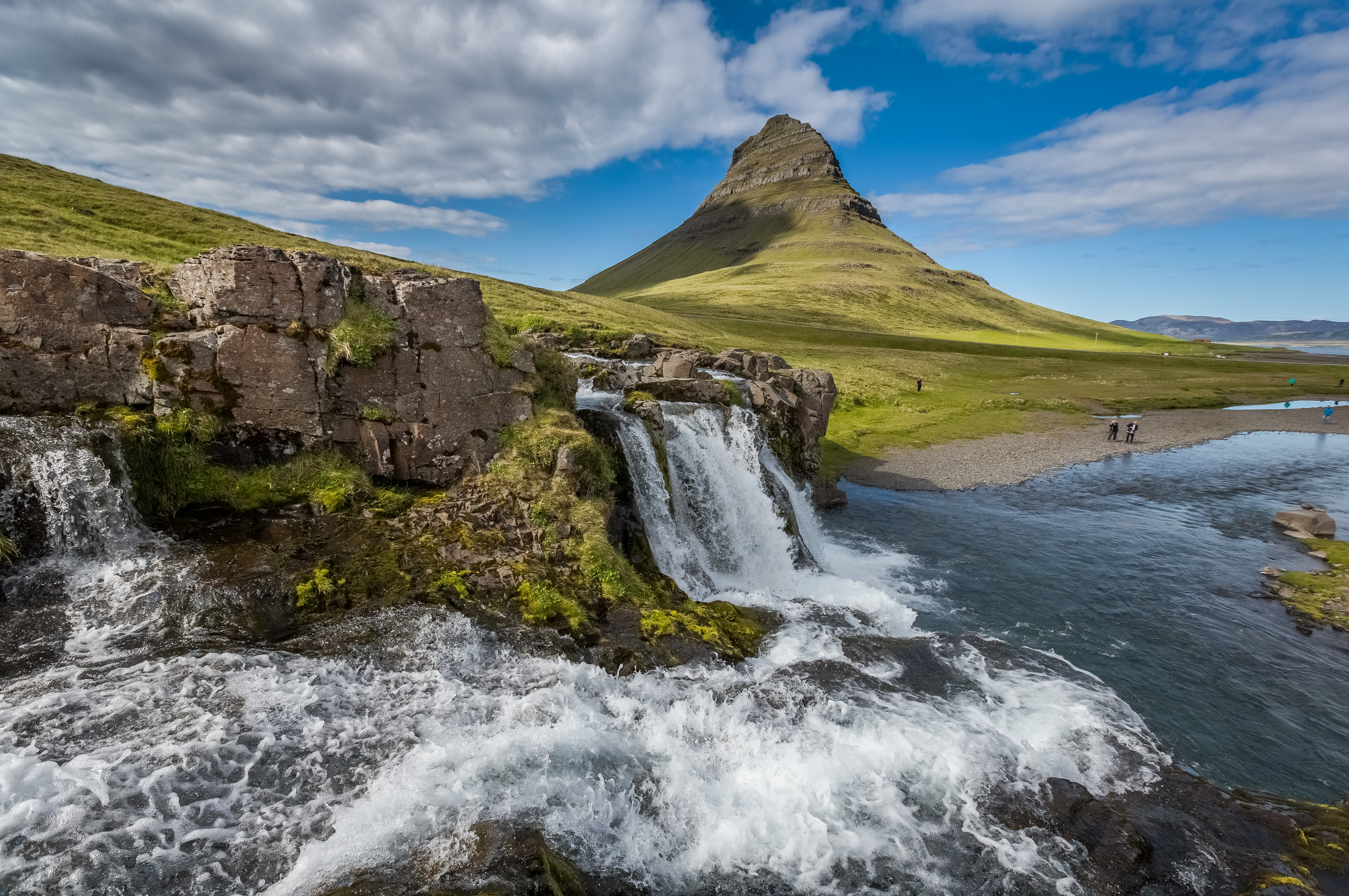 beautiful scenery in iceland - image credit Icealnd Tourism - kirkjufellsfoss-sumarid-2013-80 - Reasons to visit Iceland more than once