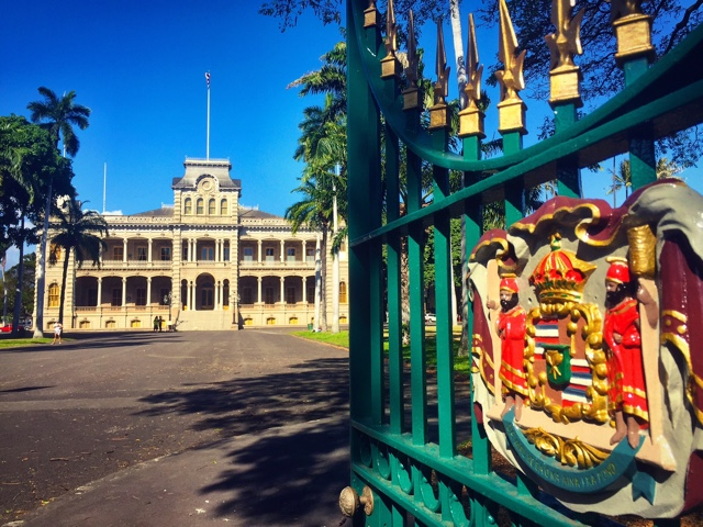 iolani palace in oahu - The Best of Maui and Oahu