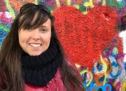 Cailin loving Prague and the John Lennon Wall - How to Enjoy Prague Like a Local