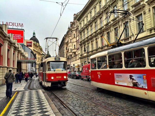 funky street cars in Prague - How to Enjoy Prague Like a Local