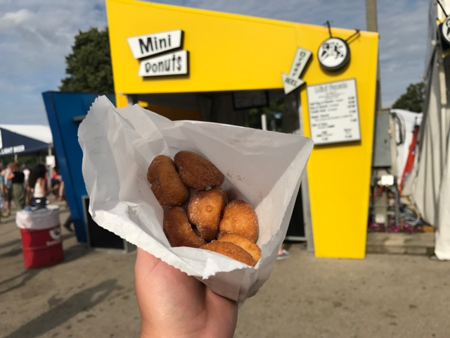 mini doughtnuts at Summerfest - First-Timers Guide for Summerfest in Milwaukee