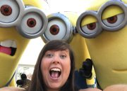 cailin selfie with the minions - The Ultimate Bucket List for Universal Orlando