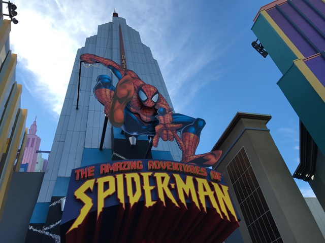the amazing adventures of spiderman 4d ride at universal - The Ultimate Bucket List for Universal Orlando