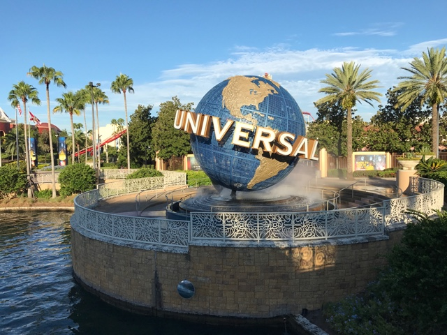 universal globe by universal studios - The Ultimate Bucket List for Universal Orlando