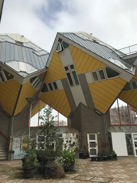 Rotterdam Cube houses show house - First-Timers Guide for Visiting Rotterdam