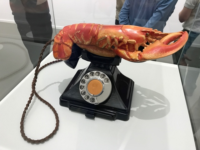 salvador dali lobster telephone aphrodisiac surrealist boijmans - First-Timers Guide for Visiting Rotterdam