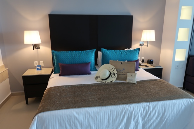 comfy bed with aroma and pillow menu - Ventus at Marina El Cid Spa and Beach Resort Hotel Review