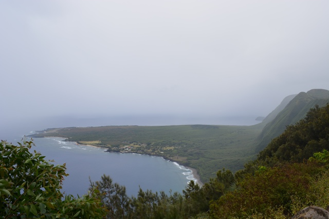 A view of Kalaupapa from the Kalaupapa lookout - Best Tips for Visiting Molokai, Hawaii