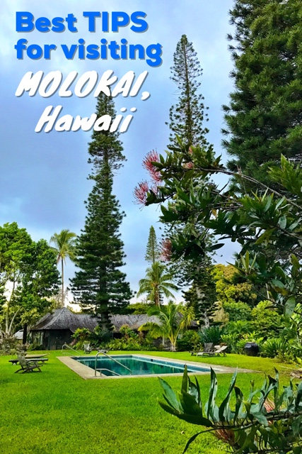 Best tips for visiting Molokai by travelyourself.ca pinterest pin