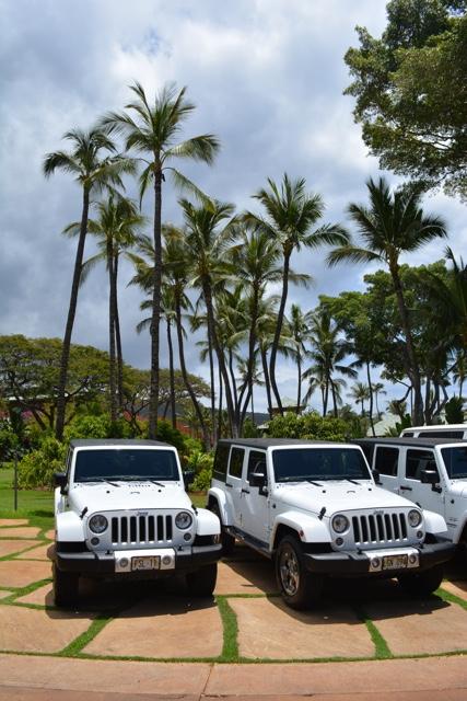 Jeep rentals at the Lanai Four Seasons - Four Seasons Resort Lanai in Hawaii Review