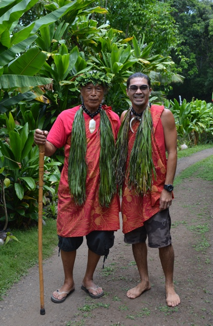 anakala pilipo and greg solatorio in the Halawa Valley - Best Tips for Visiting Molokai, Hawaii