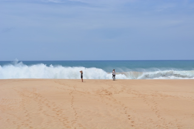 huge waves at papohoku beach on the west coast of molokai - Best Tips for Visiting Molokai, Hawaii