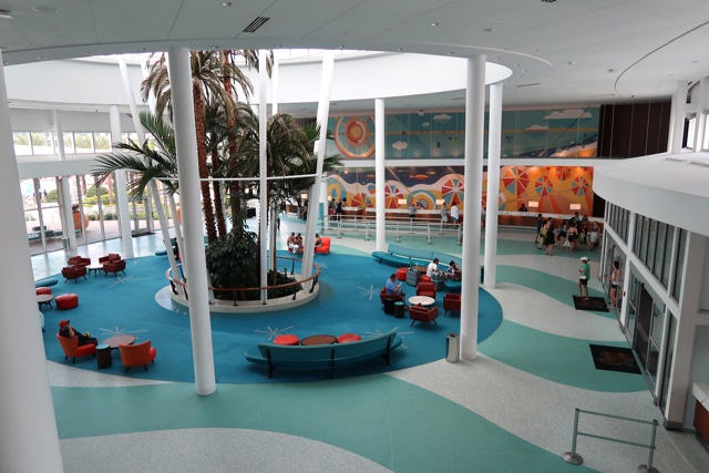 lobby at the cabana bay beach resort - Review of Universal's Cabana Bay Beach Resort