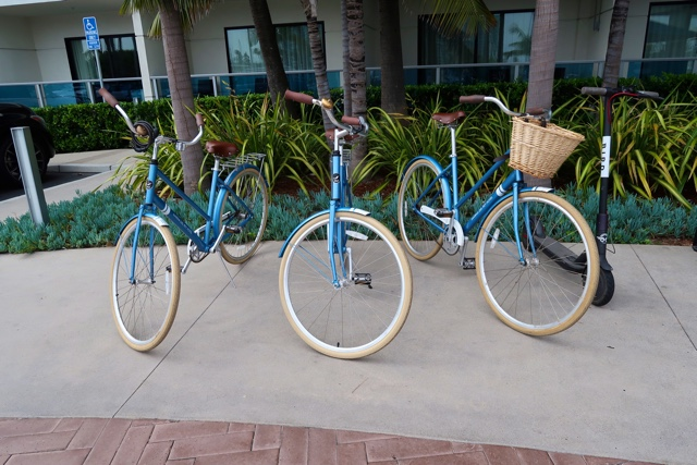 bicycles for rent to venice beach and santa monica peir - Marina Del Rey Hotel Los Angeles Review