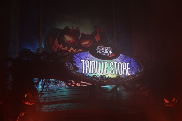 halloween horror nights tribute store merch