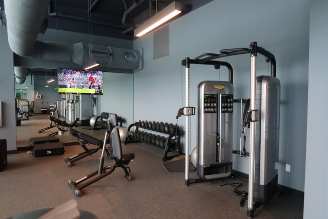 the gym at the aventura hotel - The Aventura Hotel at Universal Orlando Review