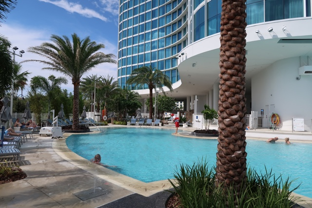 the pool at the aventura hotel - The Aventura Hotel at Universal Orlando Review