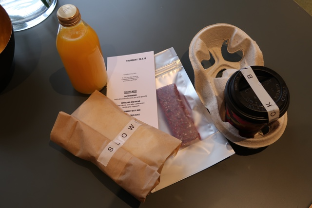 breakfast delivered by the house host from a nearby cafe - The Wittenberg Aparthotel Amsterdam Review