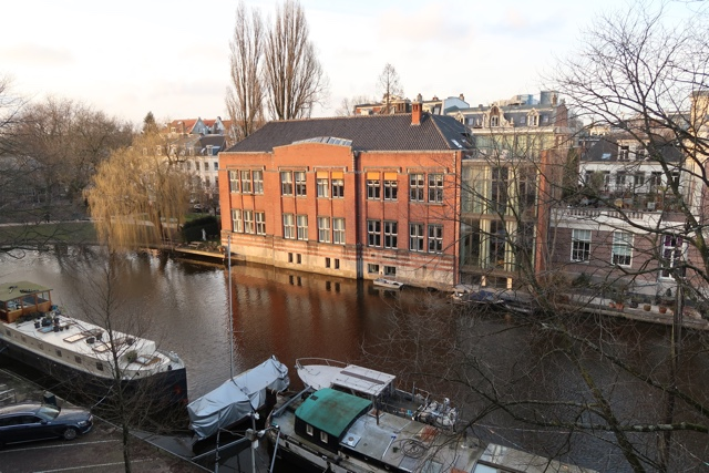 canal views from the wittenberg - The Wittenberg Aparthotel Amsterdam Review