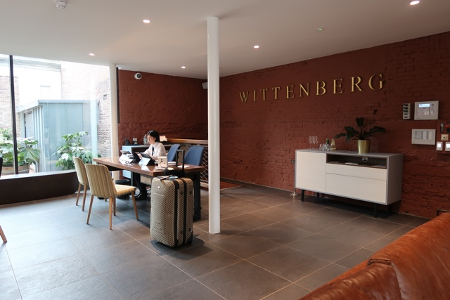 check in desk at the wittenberg hotel - The Wittenberg Aparthotel Amsterdam Review