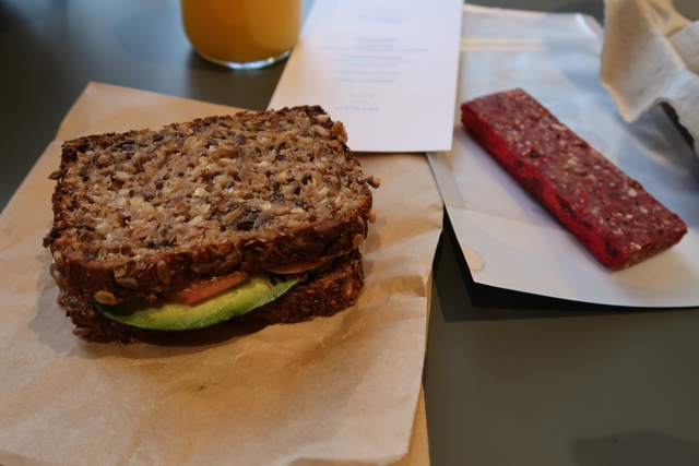 the healthiest breakfast imaginable - The Wittenberg Aparthotel Amsterdam Review