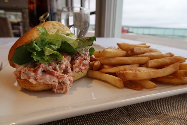 La Vista at Atlantica Oak Island lobster roll - Nova Scotia's South Shore Lobster Crawl Highlights