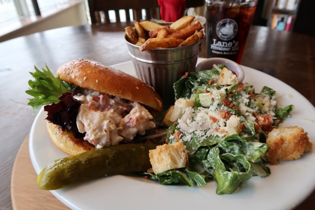 Lanes Privateer Inn lobster roll Liverpool - Nova Scotia's South Shore Lobster Crawl Highlights