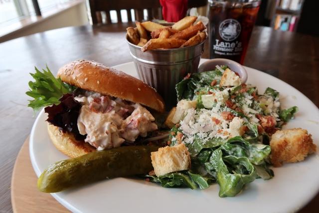 Lanes Privateer Inn lobster roll Liverpool - Nova Scotia's South Shore Lobster Crawl Highlights