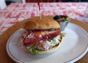 Port Grocer lobster roll Port Medway - Nova Scotia's South Shore Lobster Crawl Highlights