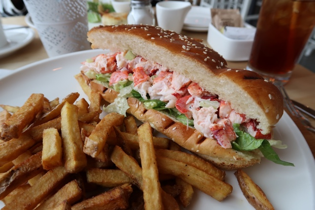 Quarterdeck grill lobster roll - Nova Scotia's South Shore Lobster Crawl Highlights