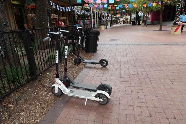 bird and lime rental scooters to get around in san antonio - things to do in san antonio today