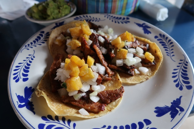 el pastor tacos at la gloria in the pearl brewery district - things to do in san antonio today