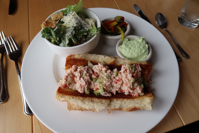 elliots dining room at White Point Beach Resort lobster roll - Nova Scotia's South Shore Lobster Crawl Highlights