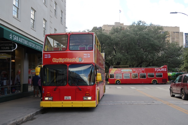 hop on hop off city sightseeing tour buses in san antonio - things to do in san antonio today