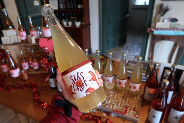 lobster cider lobster pinch sids cider from petite riviere - Nova Scotia's South Shore Lobster Crawl Highlights