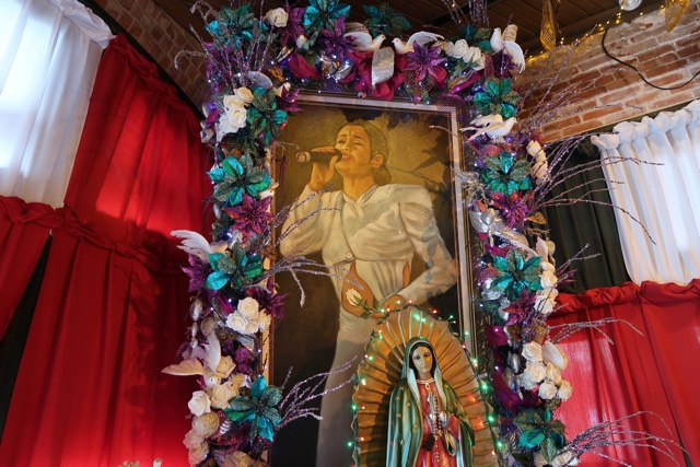 memorial to selena quintanilla perez at the Mi Tierra Cafe y Panaderia - things to do in san antonio today