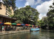 san antonio attractions the case rio restaurant rainbow umbrellas on the riverwalk - best things to do in san antonio today