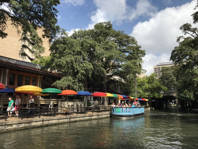 san antonio attractions the case rio restaurant rainbow umbrellas on the riverwalk - best things to do in san antonio today